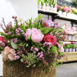 bouquet pivoine champetre