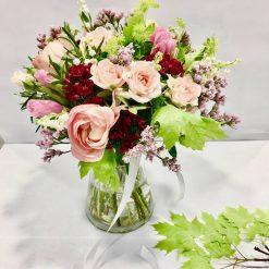 bouquet muguet rose